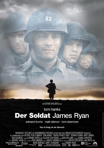 der soldat james ryan. bild amblin entertainment