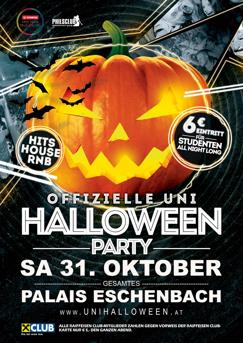 Sa. 31. Okt - Offizielle UNI HALLOWEEN PARTY