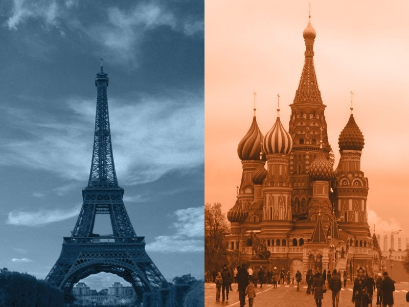 Paris vs. Moskau