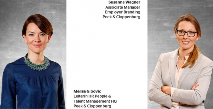 Susanne Wagner (Associate Manager Employer Branding Peek & Cloppenburg) und Melisa Gibovic  (Leiterin HR People & Talent Management HQ Peek & Cloppenburg)